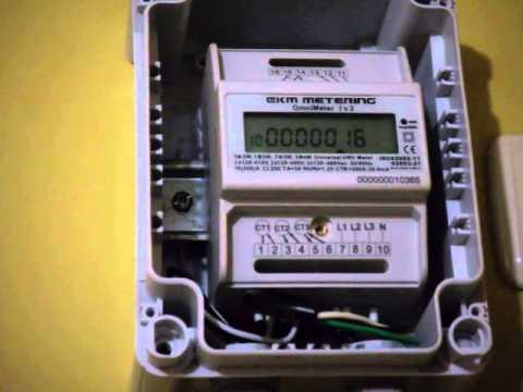 Ekm Electric Energy Metering Working