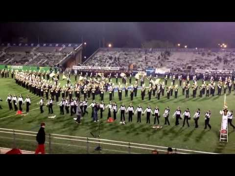 Northport Marching Band Hofstra 2013