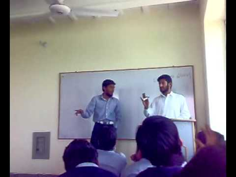 chenab college Gujrat debate on co-education part-1.mp4