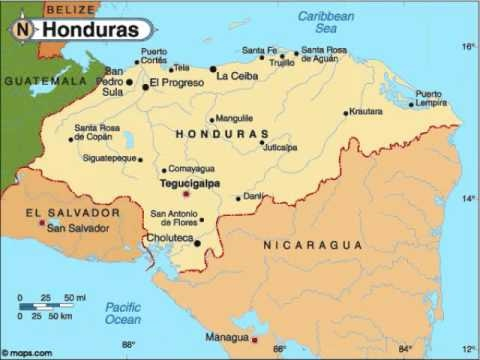 Rock The Countries Central America YouTube - United states map in spanish
