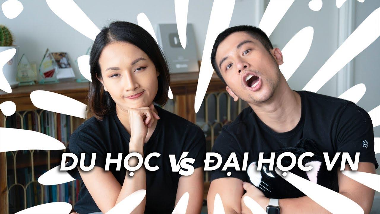 Tư vấn du học cùng Giang ơi // Du học vs học đại học VN Cái nào tốt hơn?// Dinology