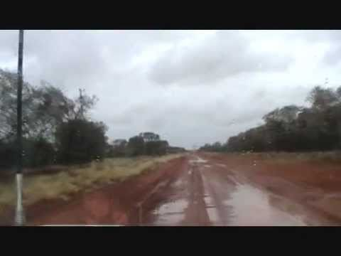 A wet trip from Old Andado to Kulgera.June 2011 wmv