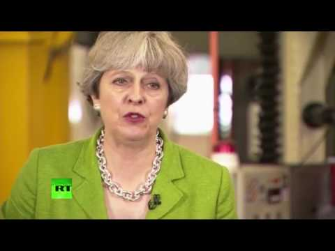 May answers questions on NHS, Brexit & BBC no show