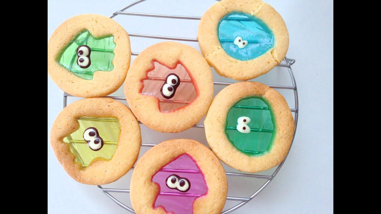 【Splatoon】mochi mochi stained glass cookies , もちもちステンドグラスクッキー作ってみた , YouTube