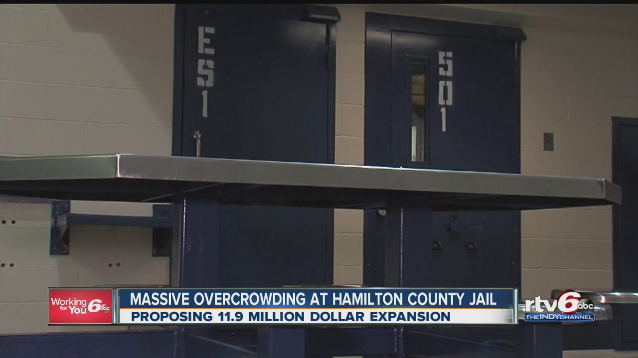 Massive overcrowding at Hamilton County Jail