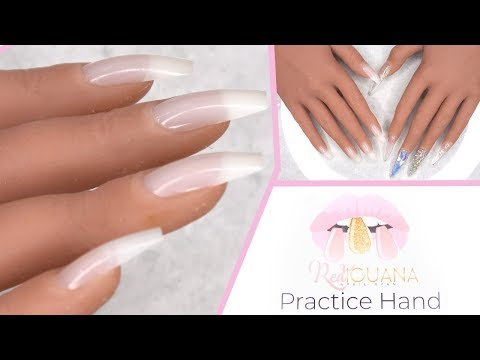 Red Iguana Practice Hand + Coupon Code!!! | LongHairPrettyNails