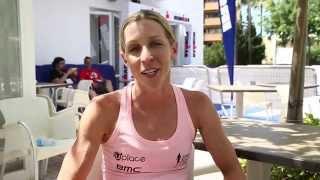 Liz Blatchford IM 70.3 Mallorca interview