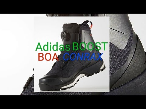 1aedfae5d98 ADIDAS TERREX CONRAX BOOST BOA BOOTS | NO LACES CLIMAWARM CLIMAPROOF  PRIMALOFT 600 On Foot & Review