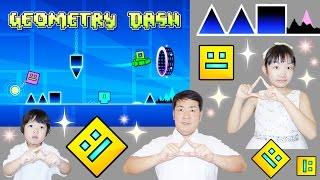 ★クリア不可能!激ムズ!「三角に注意~!」ジオメトリーダッシュ★Geometry Dash★