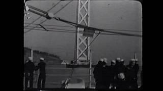 Golden Gate Bridge Under Construction - 1936
