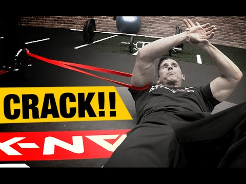 Shoulder Mobility Drill FIX CRACKING SHOULDERS!