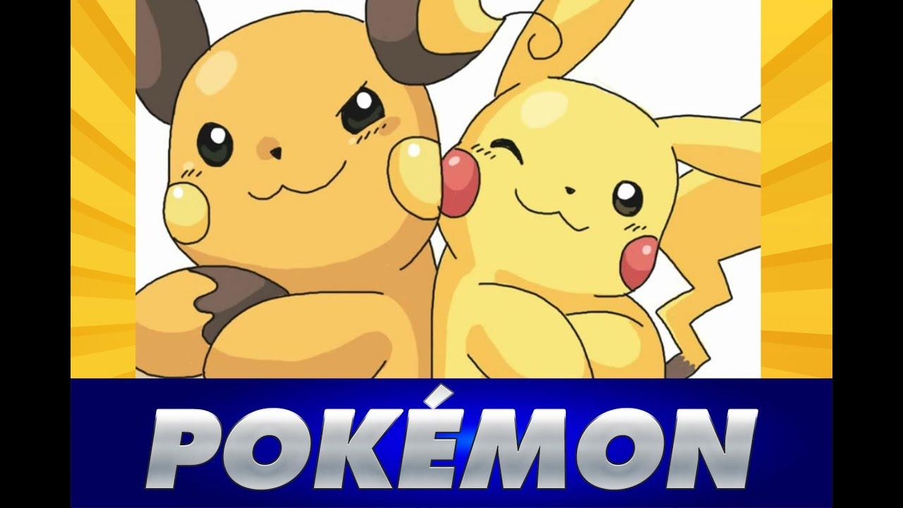 Uncategorized Raichu And Pikachu dibujar a raichu y pikachu de how to draw youtube