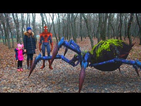 В новом приключении встречаем лесных жителей - паучков (12 серия на KidsFM)