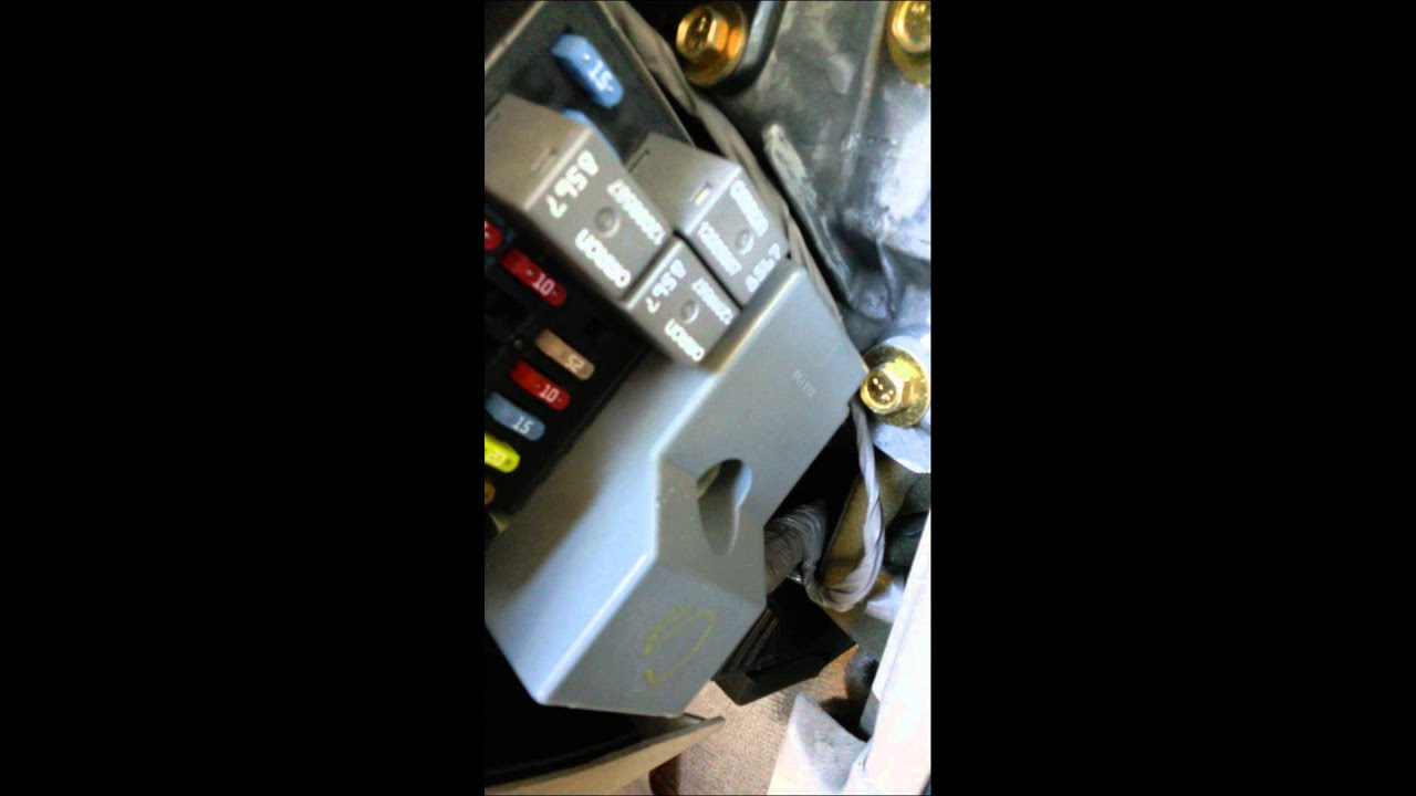 Bcm Module Issue Chevrolet Impala 2003