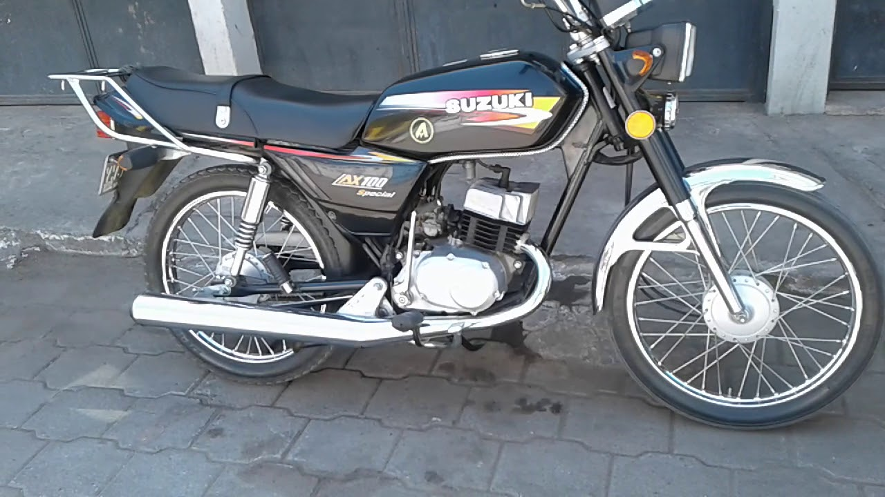 Suzuki ax 100 negra