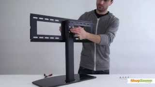 "Shopjimmy Universal Tv Stand/base For 37""- 55'' Tvs-install Universal Tv Stand & Wall Mount"