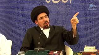 السيد منير الخباز - كيف تكون الجنة مغرية للإنسان الترابي(الأرضي) و السماوي (الإلهي)