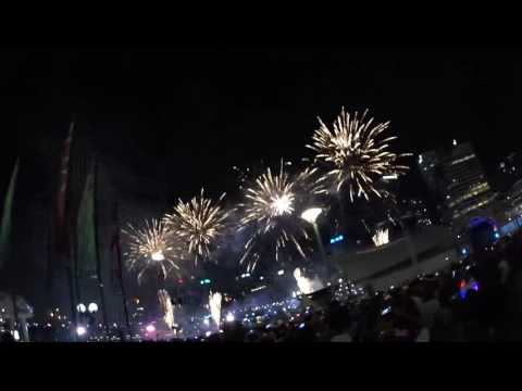 New year 2017 at sydney - darling harbour