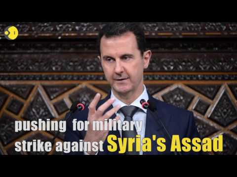 51 US diplomats urge military strike against Assad's regime