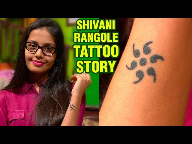 Shivani Rangoles Tattoo Story | Marathi Actress | Marathi Movie 2018
