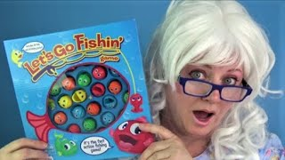 Peppa Pig Learn Colors Fishing Game Surprise Eggs Granny Toy