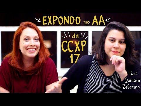Como foi expor no Artist's Alley da CCXP17 - Minhas Sardinhas