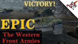 Company of Heroes 2 The Western Front Armies - 4vs4 EPIC Annihilation   Multiplayer Gameplay