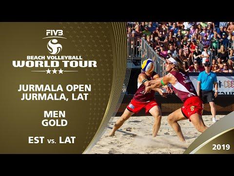Men's Gold Medal: EST Vs. LAT   3* Jurmala (LAT) - 2019 FIVB Beach Volleyball World Tour