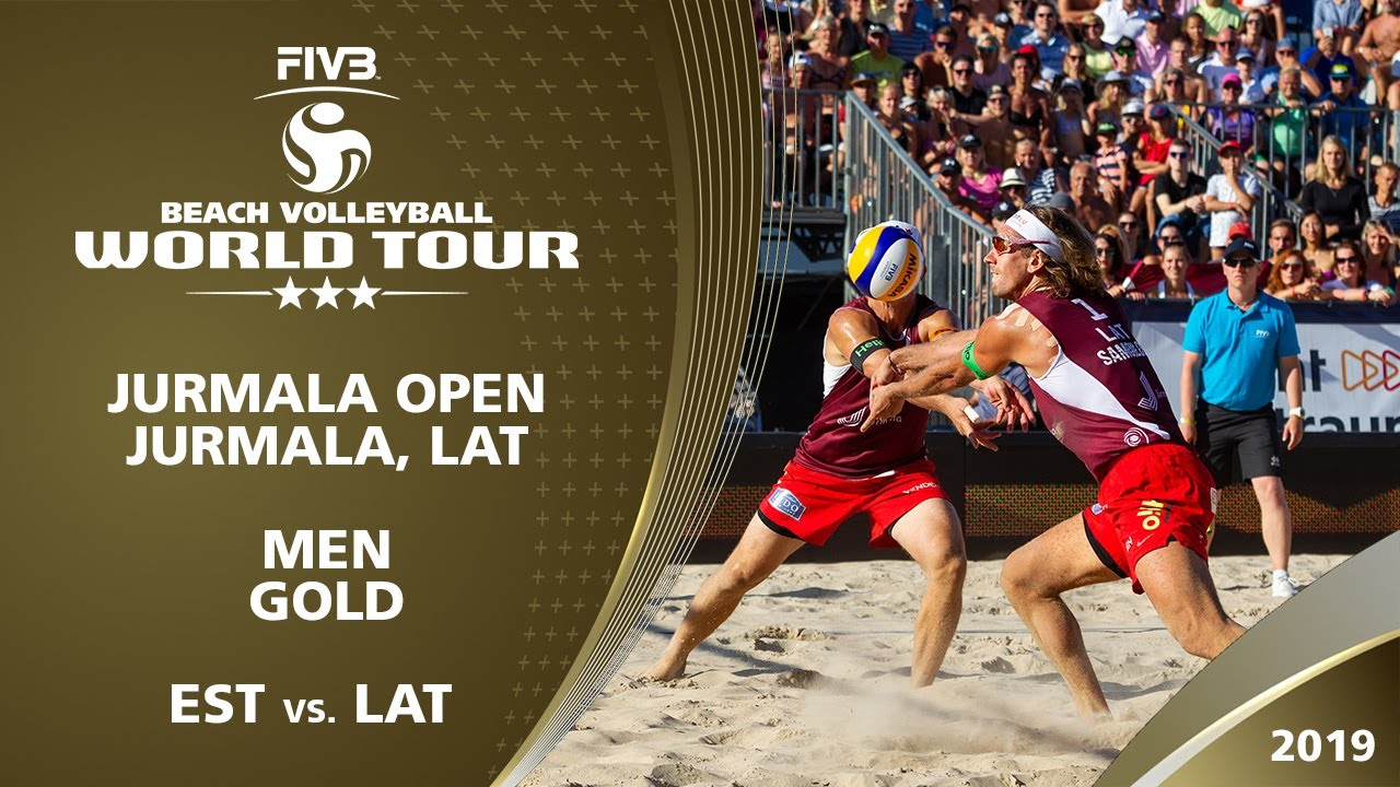 Men S Gold Medal Est Vs Lat 3 Jurmala 2019 Fivb Beach Volleyball World Tour