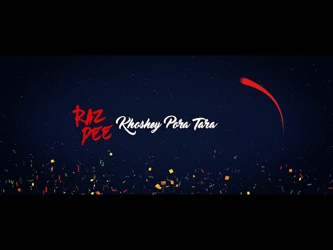 Raz Dee | Khoshey Pora Tara | Official Lyrics Video | Bangla R&B