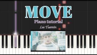 [PIANO TUTORIAL] MOVE | 태민 TAEMIN