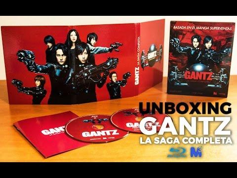GANTZ La saga completa [2011] | Unboxing (Blu-Ray/Alta definición/FullHD/1080P) streaming vf