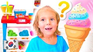 다섯 아이 아이스크림 가게놀이 Five Kids Pre…