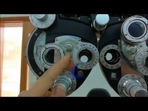 Optometry Equipment Vision Tester Manual Phoropter