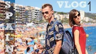 *ИСПАНИЯ* наше путешествие, пляжи Lloret-de-mar, часть1(This video is about Spain, lloret-de-mar Наше путешествие в Испанию, день 1. В видео: дорога, Ллорет-де-мар, первые впечатления,..., 2016-09-19T08:34:11.000Z)