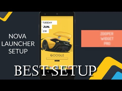 BEST CAR SETUP | NOVA LAUNCHER | MUST SEE
