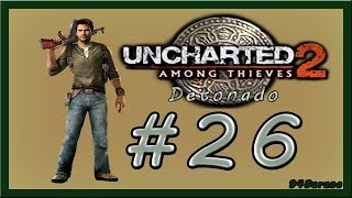 Uncharted 2 Among Thieves Detonado \\ Capitulo 23 //  A Passagem Segreta (26) HD