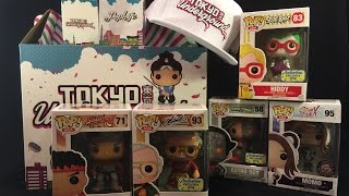 Unboxing Tokyo Underground's Asia Exclusive Mystery Box and Mystery Power Pack Box from ACGHK 2016
