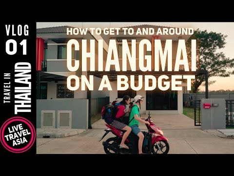 Getting Around Chiangmai in 2019 on a Budget, Airport, Taxi, Motorcycle, AirBNB, Places to Eat