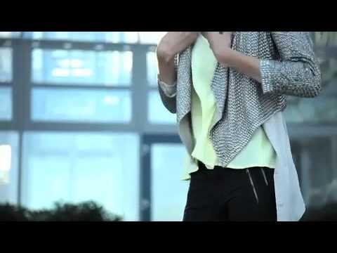 Gestuz fashion film for Holzweiler Agency by Kjetil Hasselgård