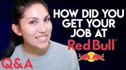 Q&A: HOW I GOT MY FIRST JOB AT RED BULL