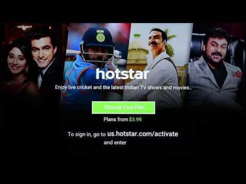 Streaming Hotstar on Roku : Installation