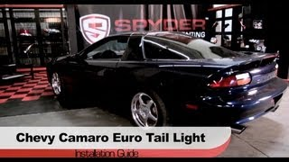 Spyder Auto Installation: 1998-2002 Chevrolet Camaro Euro Tail Light