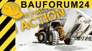 Extreme Machines: Liebherr L 586 Wheel Loader in Carrara Marble Quarry - Bauforum24 Jobreport