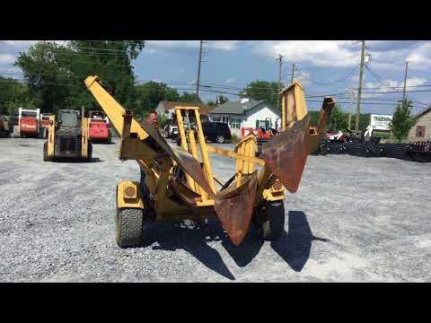 Vermeer TS44 Towable Tree Spade! - YouTube