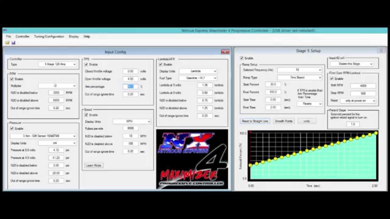 Maximizer 4 Progressive Nitrous Controller  YouTube