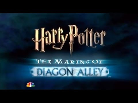 The Making Of Diagon Alley -  Universal Studios Orlando Reso