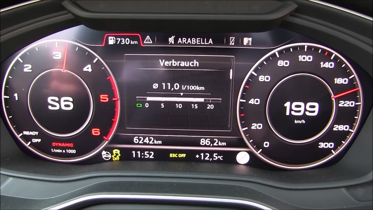 Audi A4 B9 Top Speed Youtube
