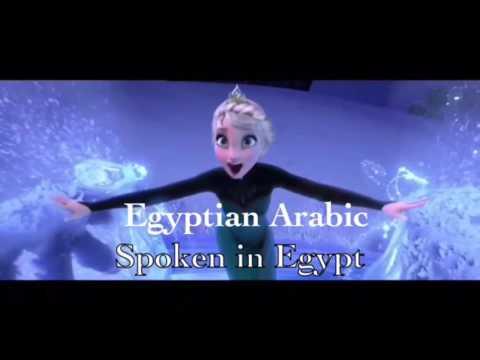 Frozen-let it go in 24 Asian languages-#2