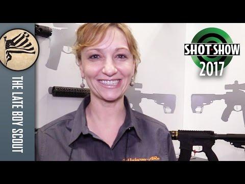 Unique ARs - Personalized AR-15 Handguards: SHOT Show 2017